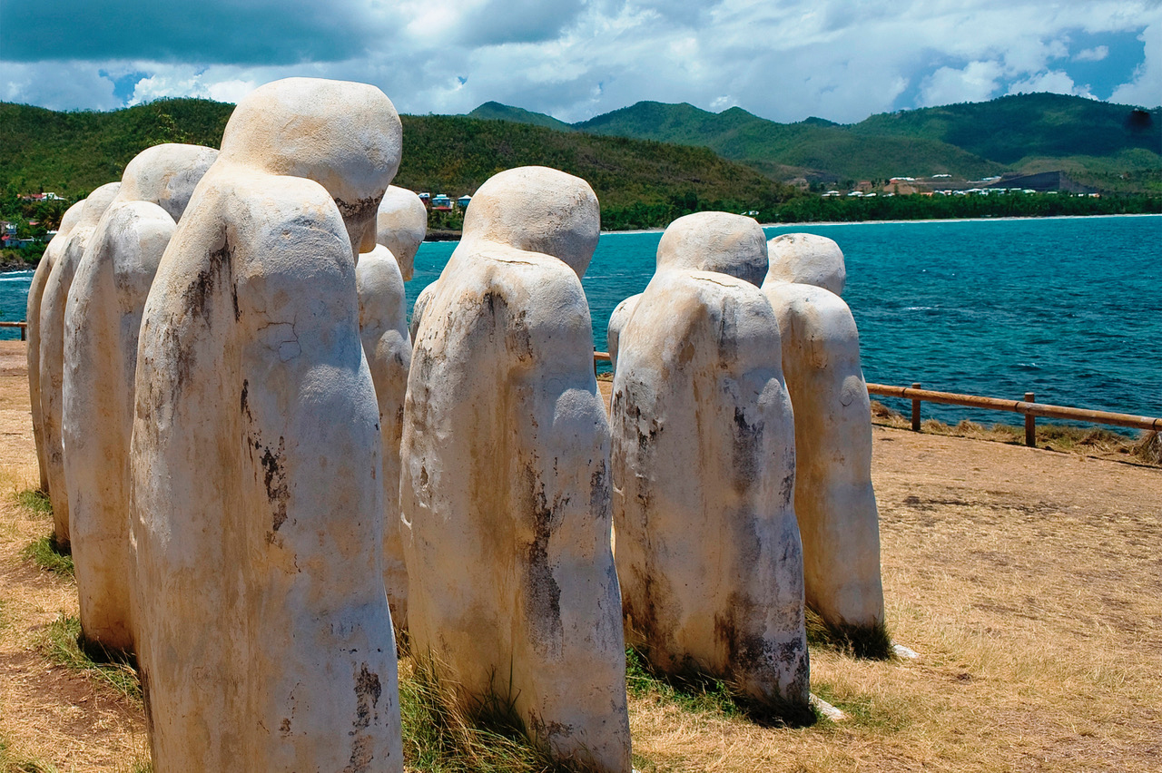 Anse Cafard Slave Memorial in Martinique